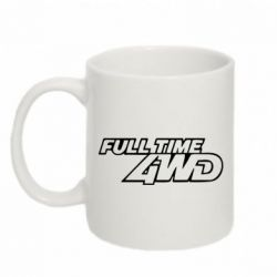 Кружка 320ml Full time 4wd - FatLine