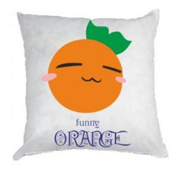 Подушка Funny orange - FatLine