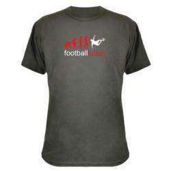 Камуфляжная футболка Футбол. Эволюция