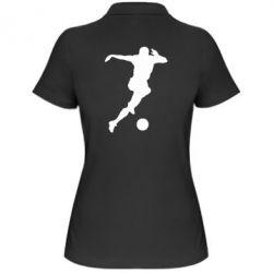 Женская футболка поло Футбол - FatLine
