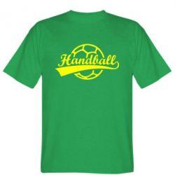 Мужская футболка Гандбол Лого - FatLine