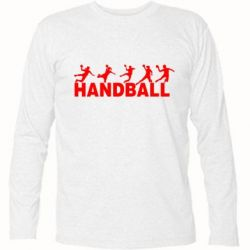 Футболка с длинным рукавом Гандболисты - FatLine