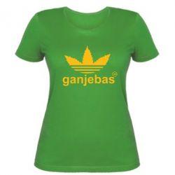 Женская футболка Ganjubas - FatLine