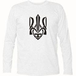 Футболка с длинным рукавом Гарний герб України - FatLine