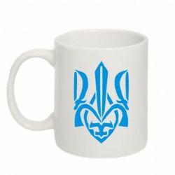 Кружка 320ml Гарний герб України - FatLine