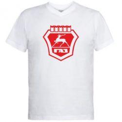 Чоловічі футболки з V-подібним вирізом ГАЗ - FatLine