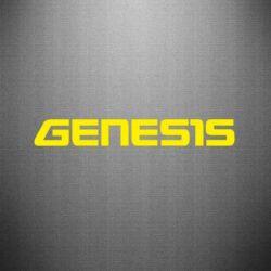 Наклейка GENESIS