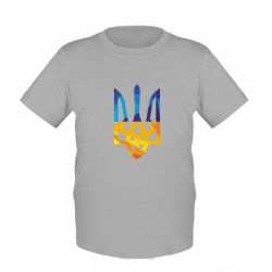 Детская футболка Герб из ломанных линий - FatLine