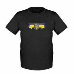 Детская футболка Герб на стрічці - FatLine