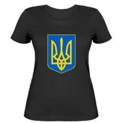 Женская футболка Герб неньки-України - FatLine
