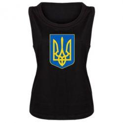 Женская майка Герб неньки-України - FatLine