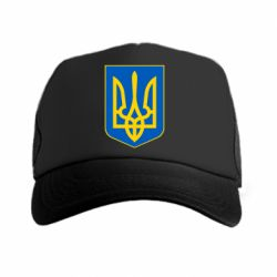 Кепка-тракер Герб неньки-України - FatLine