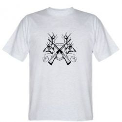 Мужская футболка Герб Охотника - FatLine