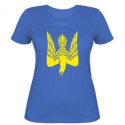 Женская футболка Герб-сокіл - FatLine