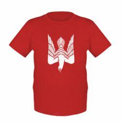 Детская футболка Герб-сокіл - FatLine