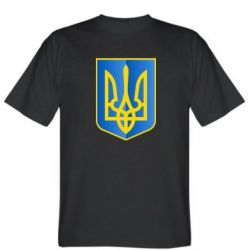 Мужская футболка Герб України 3D - FatLine