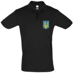 Футболка Поло Герб України 3D - FatLine
