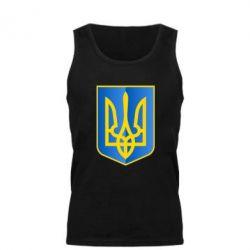 Мужская майка Герб України 3D - FatLine