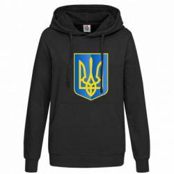 Женская толстовка Герб України 3D - FatLine