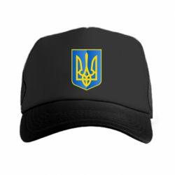 Кепка-тракер Герб України 3D - FatLine