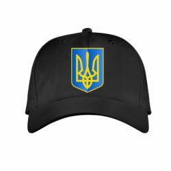 Детская кепка Герб України 3D - FatLine