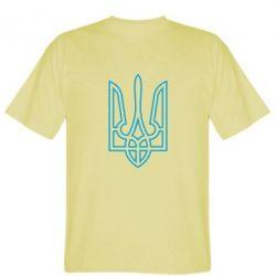 Мужская футболка Герб України (полий) - FatLine