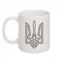Кружка 320ml Герб України (полий) - FatLine