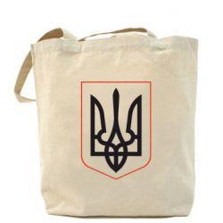 Сумка Герб України з рамкою - FatLine