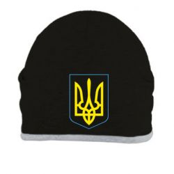 Шапка Герб України з рамкою - FatLine