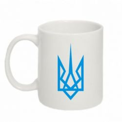 Кружка 320ml Герб України загострений - FatLine