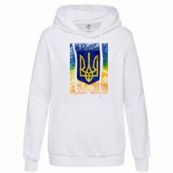 Женская толстовка Герб Украины цвет