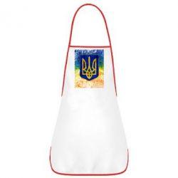 Фартук Герб Украины цвет