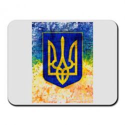 Коврик для мыши Герб Украины цвет