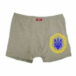 Мужские трусы Герб Украины - FatLine