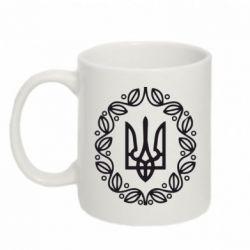 Кружка 320ml Герб Украины - FatLine