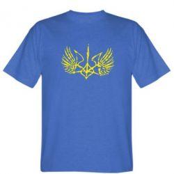 Мужская футболка Герб з крилами - FatLine