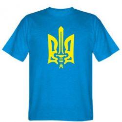 Мужская футболка Герб з мечем - FatLine