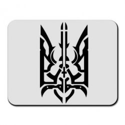 Коврик для мыши Герб з металевих частин - FatLine