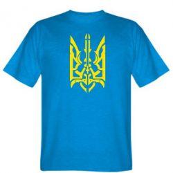 Мужская футболка Герб з металевих частин - FatLine