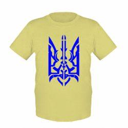 Детская футболка Герб з металевих частин - FatLine
