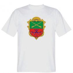 Мужская футболка Герб Запоріжжя - FatLine