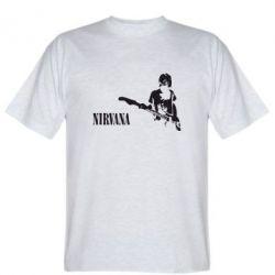 Мужская футболка Гитарист Nirvana - FatLine