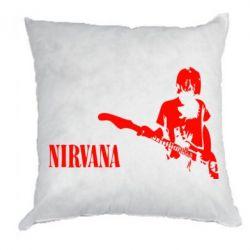 Подушка Гитарист Nirvana