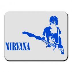 Коврик для мыши Гитарист Nirvana - FatLine