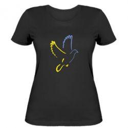 Женская футболка Голуб миру - FatLine