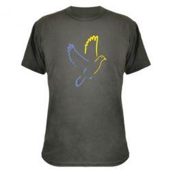 Камуфляжная футболка Голуб миру - FatLine