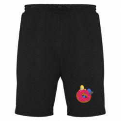 Мужские шорты Гомер и Пончик - FatLine