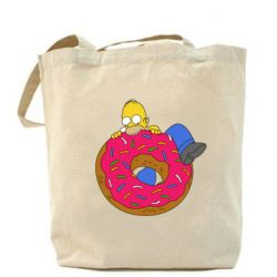 Сумка Гомер и Пончик - FatLine