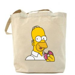 Сумка Гомер любит пончики - FatLine