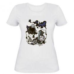 Женская футболка Город под подошвой